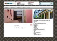 Webbsida från PBA Bygg AB