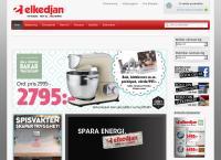 Webbsida från Eltjänst Ab, Elkedjan