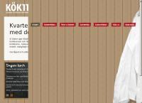 Webbsida från KÖK 11 AB