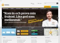 Webbsida från STATOIL