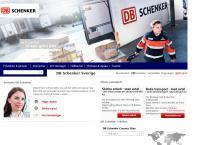 Webbsida från Schenker AB