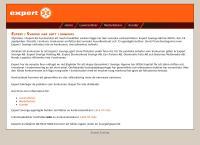 Webbsida från Expert Skövde Ab