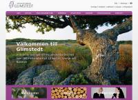 Webbsida från Advokatfirman Glimstedt I Lund AB