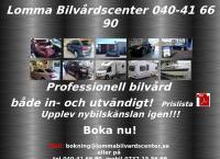 Webbsida från Lomma Bilvårdscenter