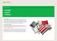 Webbsida från Hemtex