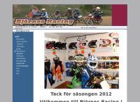 Webbsida från Björnes Racing