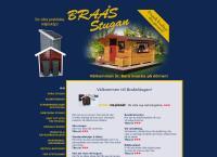 Webbsida från Braås Stugan AB