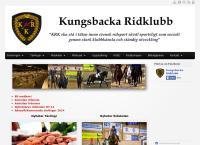 Webbsida från Kungsbacka Ridklubb