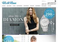 Webbsida från UR & PENN