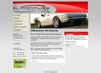 Webbsida från Autocity