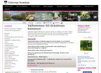 Webbsida från Grästorps bibliotek