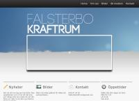Webbsida från Falsterbo Kraftrum