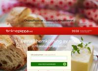 onlinepizza se hemkörning
