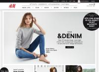 Webbsida från H&m Tornby