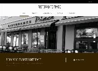 Webbsida från Ristorante Piace