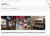 Webbsida från Salong Baresso
